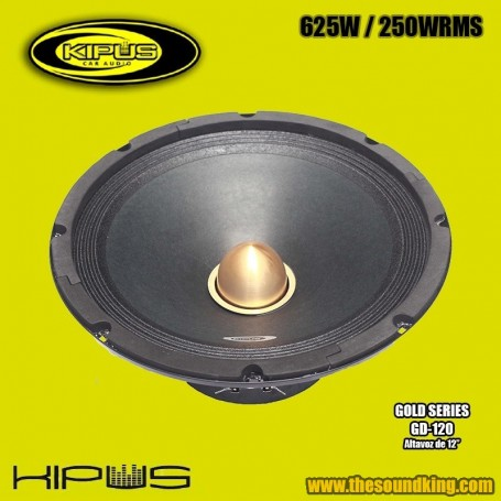 Altavoz Medio KIPUS GD-120 (Gold Series)