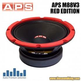"Altavoz Medio 8"" APS M88V3 RED EDITION"