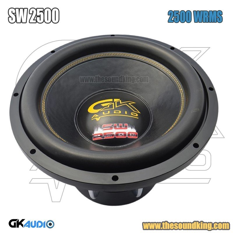 Subwoofer GK Audio GK15 2500 SPL