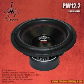 Subwoofer Scorpion Audio PW12.2