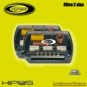 Kipus Pro-F2 - Juego filtros 2 vias