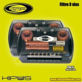Kipus Pro-F3 - Juego filtros 3 vias