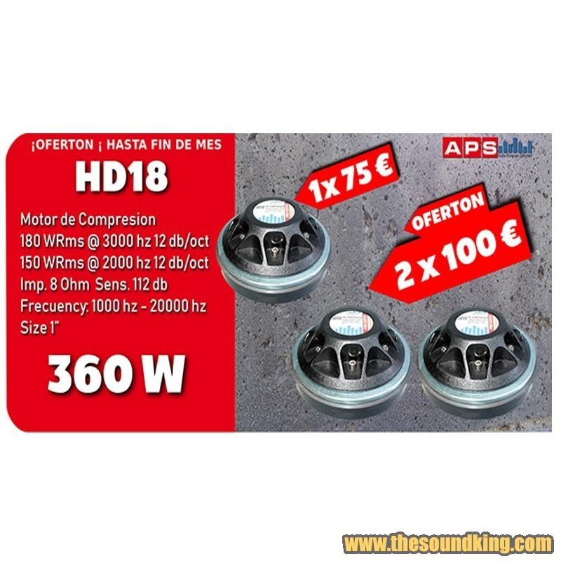 Motor de Compresion APS HD18 - 2 Unidades