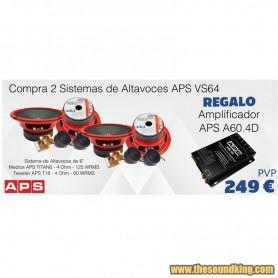 2 Sistemas Vias Separadas APS VS64 + APS A60.4D
