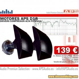 Motores de Compresion + Pabellon APS 2D18PM3