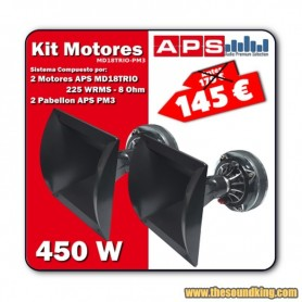 Kit de Motores de Compresion APS MD18TRIO