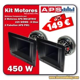 APS - Kit Motores MD18TRIO + Pabellon PM1