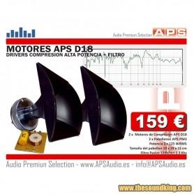 Motores de Compresion + Pabellon APS 2D18PM3 FILTRO