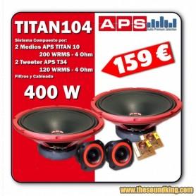 Kit APS TITAN 104 - Sistema 2 Vias