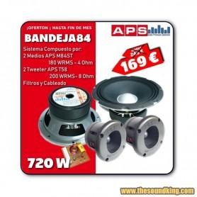 Sistema de Altavoces APS - Bandeja 84