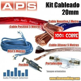 Kit de Cableado APS 25 mm - 100% Cobre