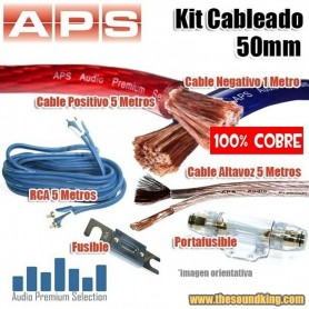 Kit Cableado APS / AMPIRE 50 mm - 100% Cobre