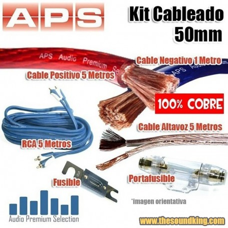 Kit Cableado APS / AMPIRE 50 mm - 100% Cobre