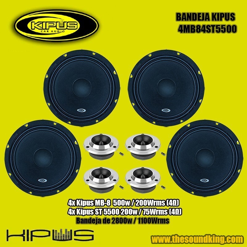 Amplificador / Etapa Kipus Carbono 4210 PRO