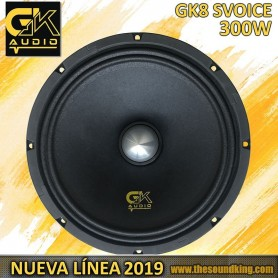 "Altavoz 8"" GK Audio GK8SVOICE"