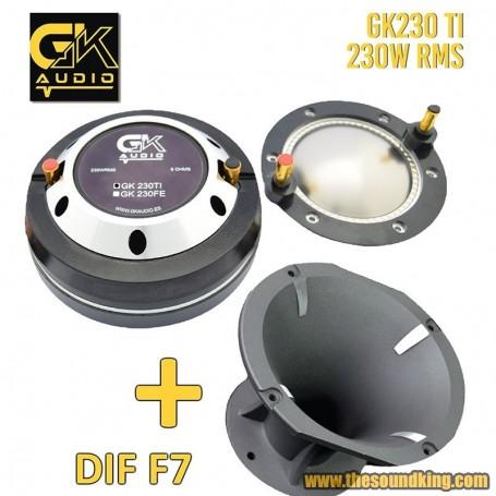 Trompeta GK Audio GK 230TI + Difusor F7