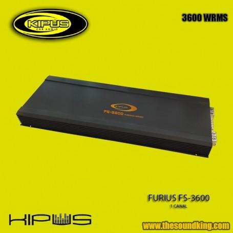 Amplificador / Etapa Kipus FS-3600