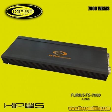 Amplificador / Etapa Kipus FS-7000. Furius Series