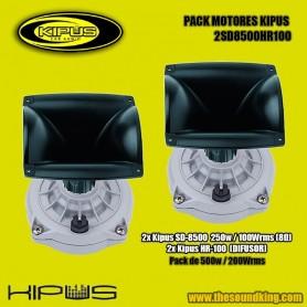 Pack Motores / Trompetas Kipus 2SD8500HR100