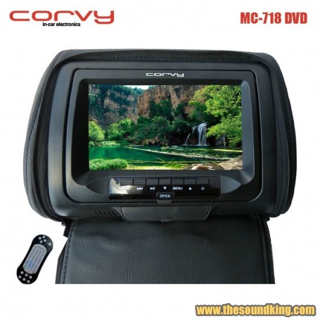 Monitor de reposacabezas Corvy MC-718 DVD