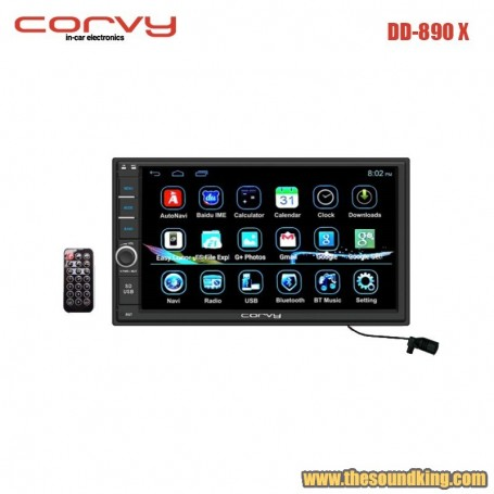 Radio DVD Doble Dim Corvy DD-890 X con Android