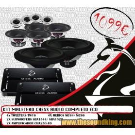 KIT MALETERO CHESS AUDIO COMPLETO ECO