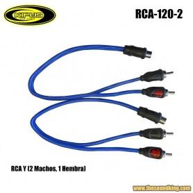 Cable RCA Y Kipus RCA-120-2