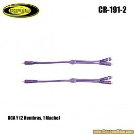 Cable RCA Y Kipus RCA-191-2