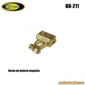 Borne bateria negativo Kipus BB-211