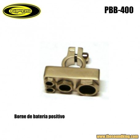 Borne bateria positivo Kipus PBB-400