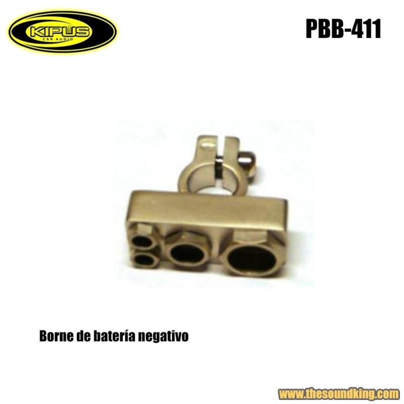 Borne bateria negativo Kipus PBB-411