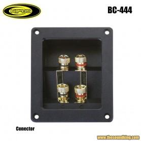 Conector cuadrado Kipus BC-444