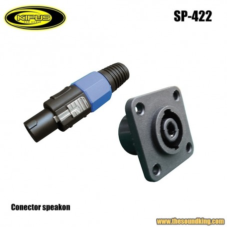 Conector speakon Kipus SP-422