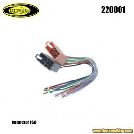 Conector ISO Kipus 220001
