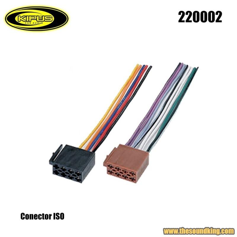 Conector ISO Kipus 220002