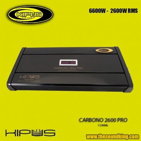 Amplificador / Etapa Kipus Carbono 2600 PRO