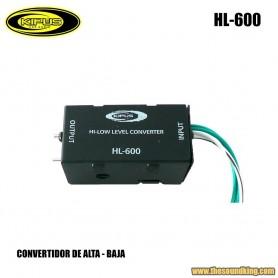 Convertidor alta-baja Kipus HL-600