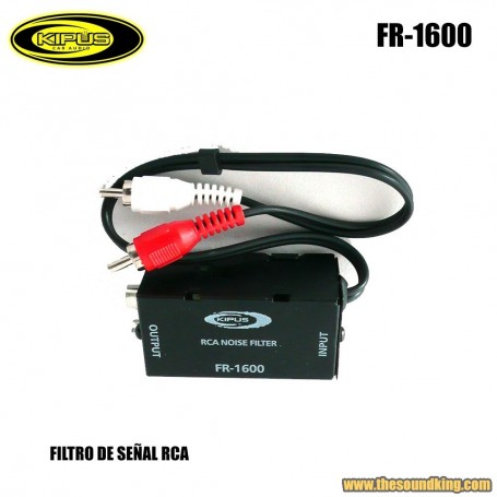 Filtro ruido RCA Kipus FR-1600