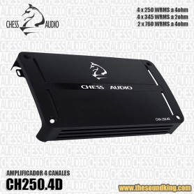 Amplificador Chess Audio CHA250.4D