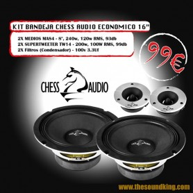 Chess Audio Pack Eco Bandeja 16