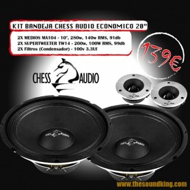 Chess Audio Pack Eco Bandeja 20