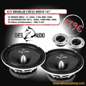 Chess Audio Pack Bandeja 16
