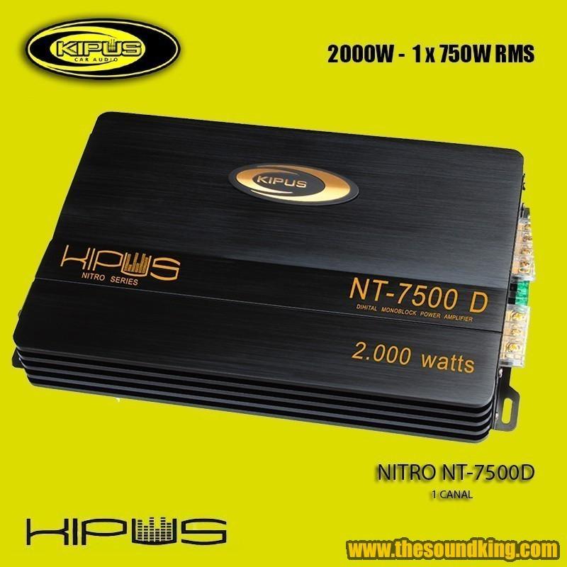 Amplificador / Etapa Kipus NT-7500