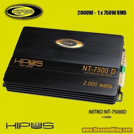Amplificador / Etapa Kipus NITRO-750 D