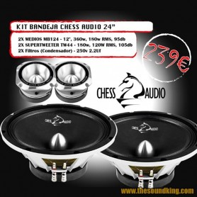 Chess Audio Pack Bandeja 24