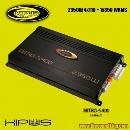 Amplificador / Etapa Kipus Nitro-5400