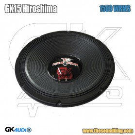 Woofer GK Audio GK 15 Hiroshima