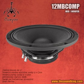 Altavoz Scorpion Audio 12MBCOMP