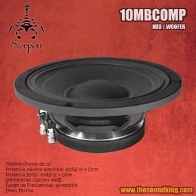 Altavoz Scorpion Audio 10MBCOMP