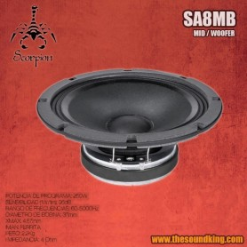 Altavoz Scorpion Audio SA8MB